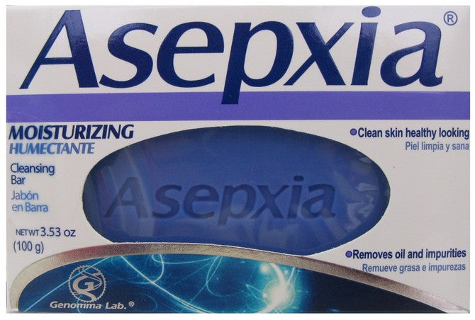 GENOMMA ASEPXIA SOAP SOFTENING 4oz (DEEP CLEANSING + MOISTURIZING)
