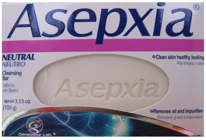 GENOMMA ASEPXIA SOAP NEUTRAL 4oz