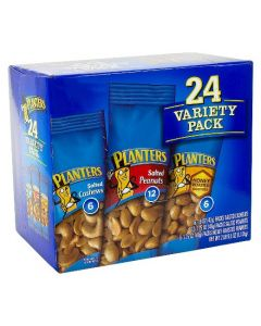 Planters - Variety Nuts Pack - 24ct/40.5 oz