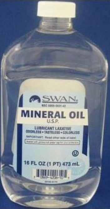 SWAN ACEITE MINERAL 16oz