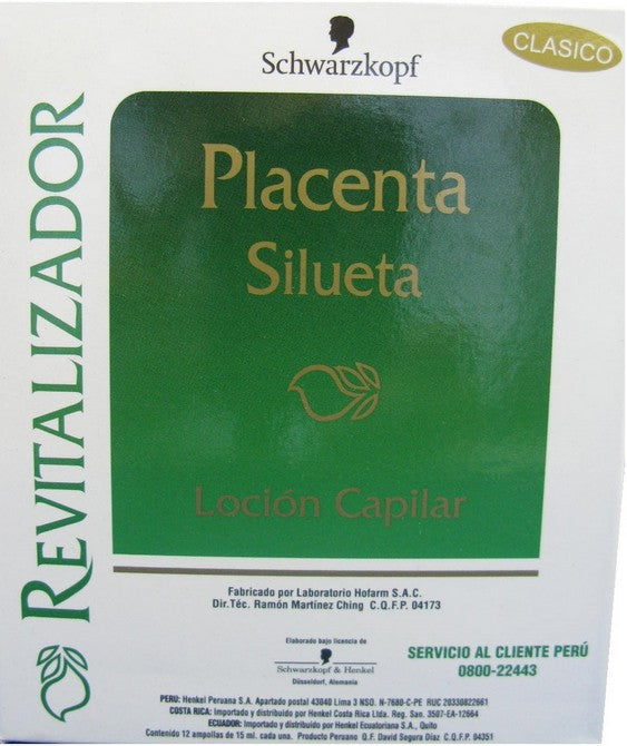 REVIT PLACENTA AMPULAS X12 15ml