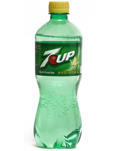 7-Up Soda - 24/20 oz plastic bottles