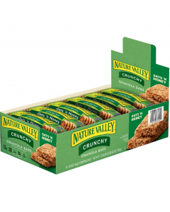 Nature Valley - Oats 'N Honey Crunchy Granola Bars - 18/1.5 oz