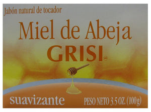 GRISI SOAP HONEY BEE 3.5oz