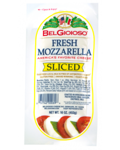 BelGioioso - Sliced Mozzarella Cheese - 1 lb