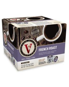 Victor Allen's - Single Serve French Roast Coffee - 42ct