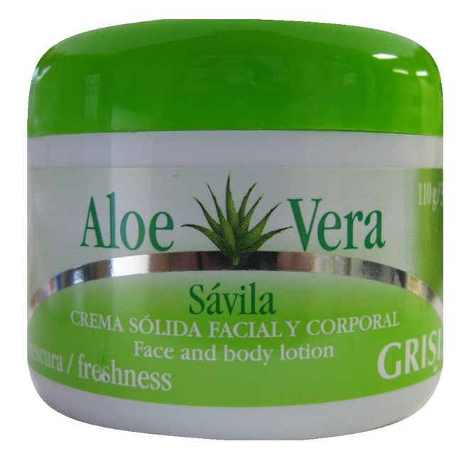 GRISI FACE AND BODY LOTION WITH ALOE VERA  3.8oz