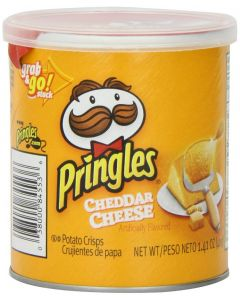 Pringles - Cheddar Potato Crisps - 12/1.4 oz