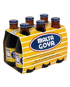 Malta Goya - Soft Drink - 4/10-packs 7oz glass bottles