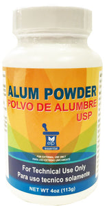 ALUM POWDER ELP 4oz