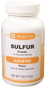 SDLC SULFUR POWDER 4oz