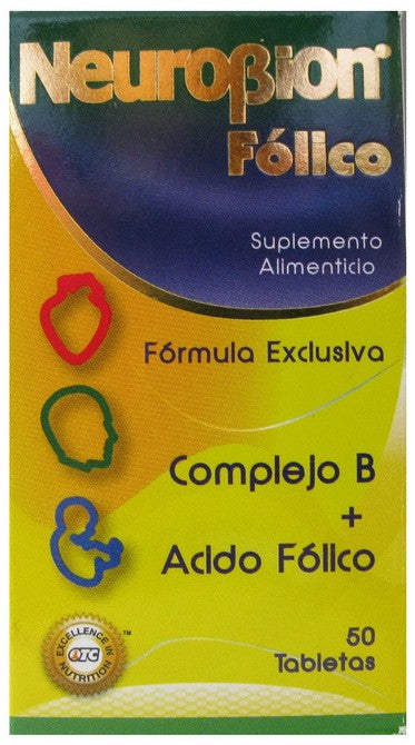 NEUROBION FOLICO & B COMPLEX TABLETS 50'S
