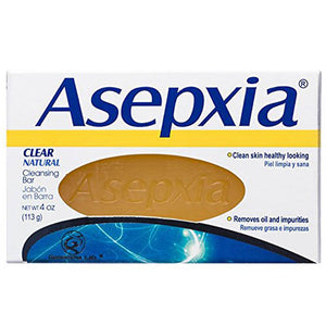 GENOMMA ASEPXIA SOAP CLEAR CLEANSING BAR 4oz