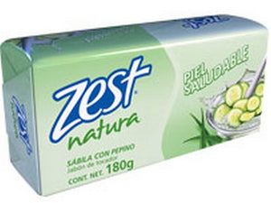 ZEST SOAP ALOE VERA WITH CUCUMBER 180gr
