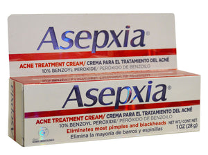 GENOMMA ASEPXIA ACNE TREATMENT  CREAM 1oz