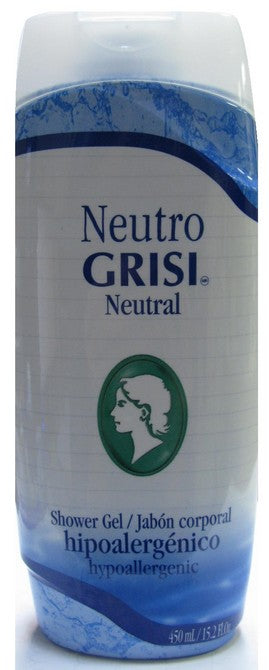 GRISI SHOWER GEL NEUTRAL 450ml