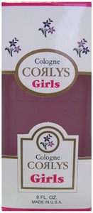 CORLYS COLOGNE BOX PINK FOR GIRLS 8oz