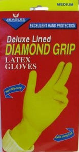 E GLOVES DIAMOND GRIP M