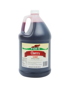 Fox's - Cherry Syrup - gallon