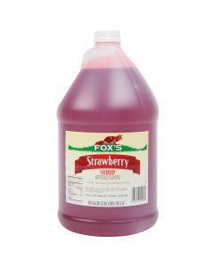 Fox's - Strawberry Syrup - gallon