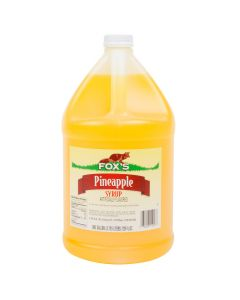 Fox's - Pineapple Syrup - gallon