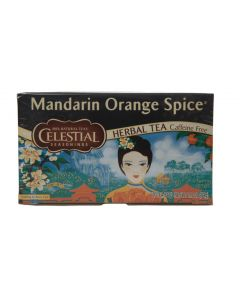 Celestial Seasonings - Mandarin Orange Spice Tea - 25Ct