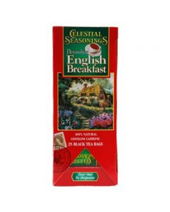 Celestial Seasonings - Devonshire English Breakfast (Black Tea)- 25Ct