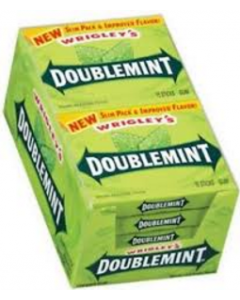 Wrigley's - Doublemint Gum Slim Pack - 10/15 sticks
