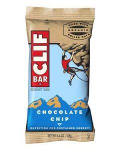 CLIF Bar - Chocolate Chip - 12 Ct