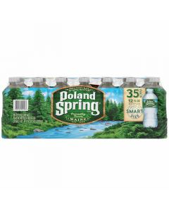 Poland Spring - Spring Water - 35/12 oz