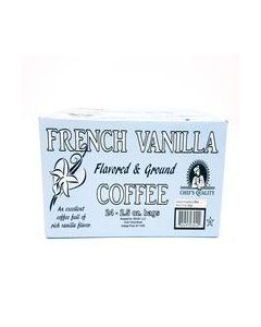 Chef's Quality - French Vanilla Coffee - 24/2.5 oz