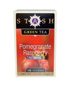 Stash - Pomegranate Raspberry Green Tea - 30 Ct