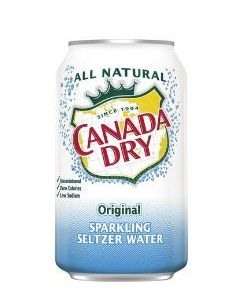 Canada Dry - Seltzer Water, 12 oz cans - 24 ct