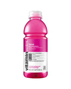 VitaminWater - Focus, Kiwi Strawberry - 12/20 oz