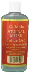 SOL DE ORO HERBAL MUSK 4oz