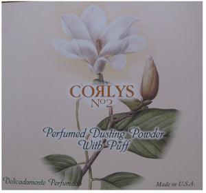 CORLYS DUSTIN POWDER #2 WITH PUFF 6oz