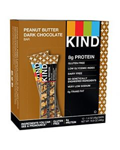KIND - Peanut Butter Dark Chocolate Bars - 12/1.4 oz