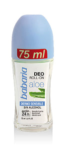 BABARIA DEODORANT ROLL-ON ALOE ORIGINAL 75ml