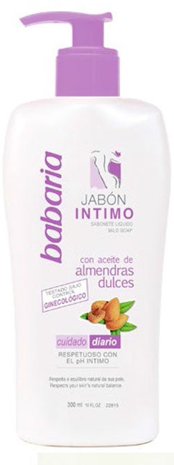 BABARIA INTIMATE SOAP WITH SWEET ALMONDS 300ml