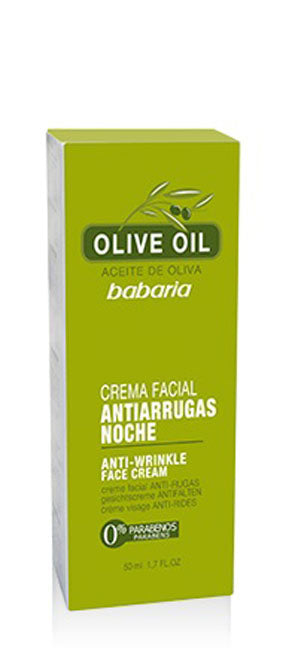 BABARIA ANTI-WRINKLE NIGHT FACE CREAM 1.7oz