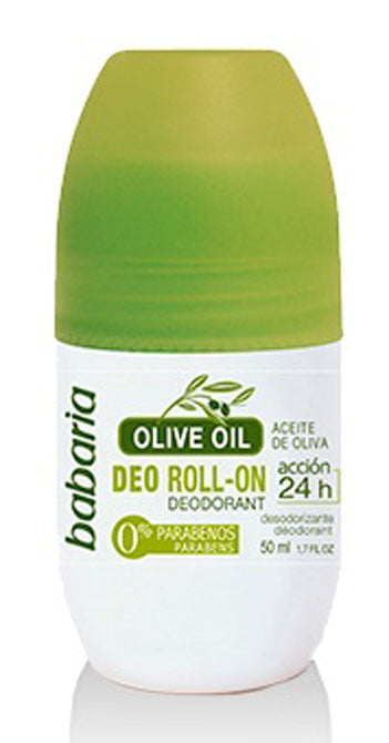 BABARIA DEODORANT ROLL-ON OLIVE OIL 50ml