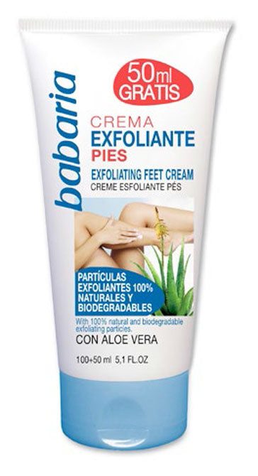 BABARIA FOOT EXFOLIATING CREAM 150ml