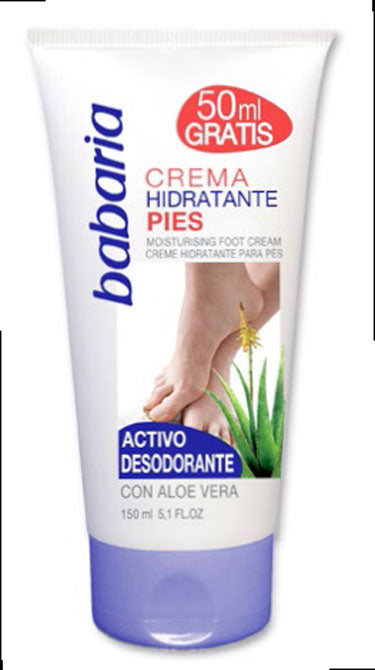 BABARIA FOOT MOISTURISING CREAM 150ml
