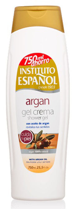 INSTITUTO ESPAÑOL SHOWER GEL WITH ARGAN OIL 25oz
