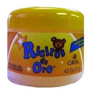 RICITOS ORO STYLING GEL WITH CHAMOMILE 4oz