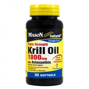 Krill Oil 1000MG With Astaxanthin