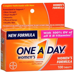 One A Day Women's Formula Multivitamin, 100 Tablets