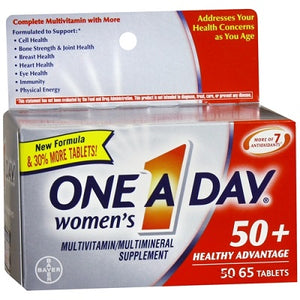 One A Day Women's Multivitamin 50+ Healthy Advantage