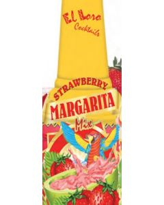 Lemon X / El Loro - Strawberry Margarita Mix - 64 oz