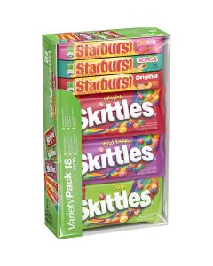 Starburst/Skittles Assorted Variety 25Ct